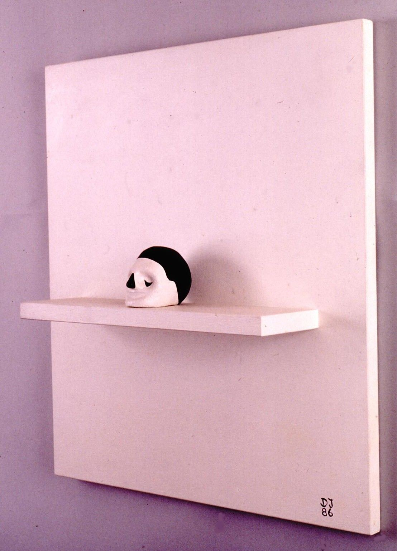 Clay Head on Shelf