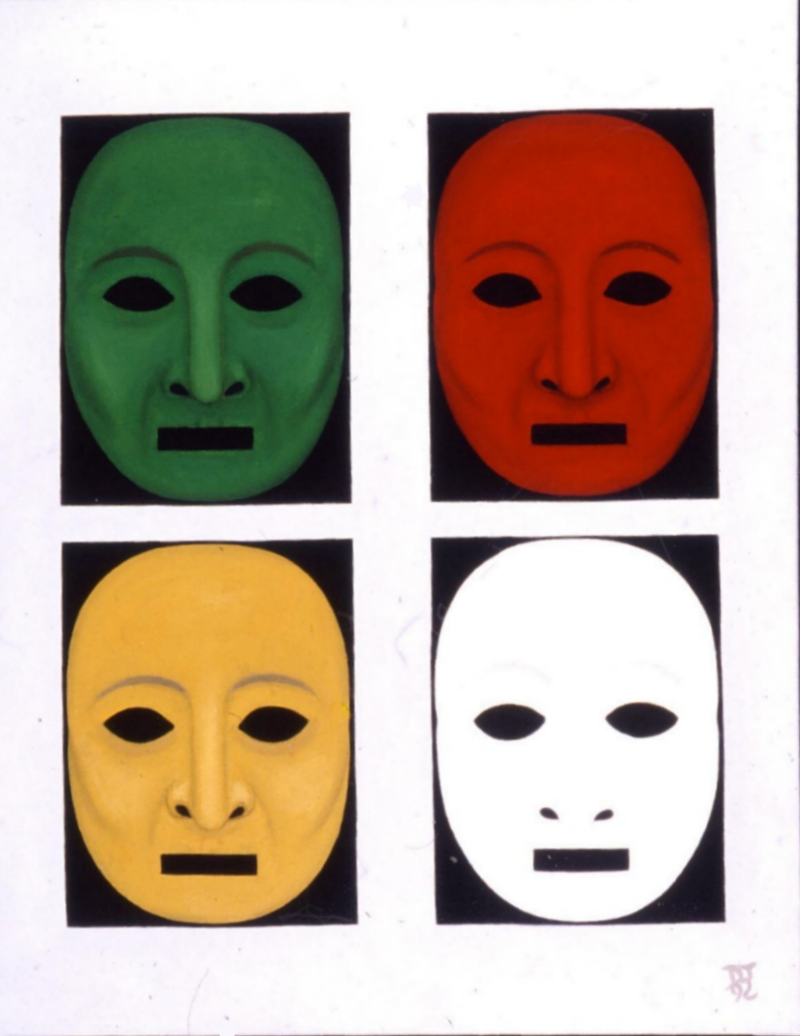 Masks of Dionysos
