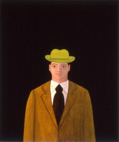 Shadow Light Man in Green Hat