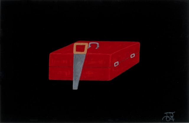 Red Toolbox and Saw